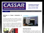 View More Information on Cassar Automotive & Tyres Pty Ltd