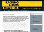 View More Information on Racking Audits Australia Pty Ltd