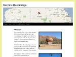View More Information on Car Hire Alice Springs