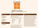 View More Information on Gift Clubs