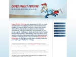 View More Information on Capes Family Fencing