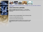 View More Information on Cost Effective Lawyers