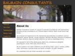 View More Information on Balmain Consultants, Balmain