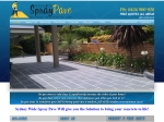 View More Information on Sydney Wide Spray Pave