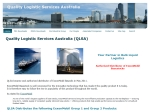 View More Information on Quality Logistic Services Australia