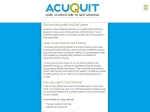 View More Information on Acuquit Melbourne