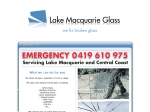 View More Information on Lake Macquarie Glass