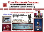 View More Information on Elite Medals & Framing