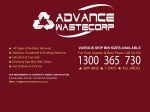 View More Information on Advance Wastecorp