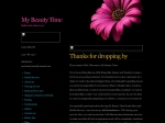 View More Information on My Beauty Time