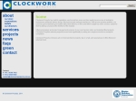 View More Information on Clockwork Projects