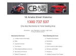 View More Information on CB Autocare