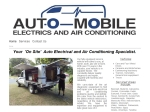 View More Information on Auto Moblie Electrics And Air Conditioning