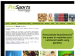 View More Information on Prosports Nutrition
