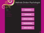 View More Information on Melinda Dridan Psychologist