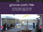 View More Information on Groove Party Supplies & Hire