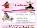 View More Information on Clear Shoe Drawers