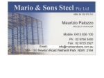 View More Information on Mario And Sons Steel Fabrication