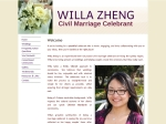 View More Information on Willa Zheng Marriage Celebrant