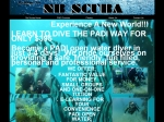 View More Information on NB Scuba