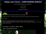 View More Information on Village Lawn Care