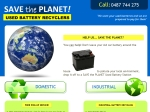 View More Information on Battery Recycling Wa