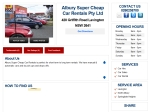 View More Information on Albury Super Cheap Car Rentals