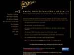 View More Information on Exotic Hair Extensions And Beauty