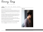 View More Information on Tommy Tang