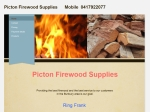 View More Information on Picton Firewood Supplies