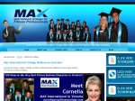 View More Information on Max International College For Fitness Professionals - Melbourne