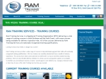 View More Information on RAM Training Services