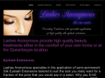 View More Information on Lashes Anonymous