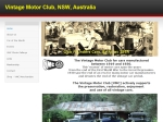 View More Information on Vintage Motor Club