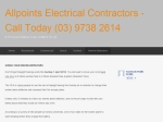 View More Information on Allpoints Electrical Contractors