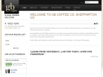 View More Information on Gb Coffee