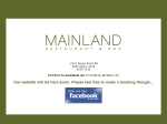 View More Information on Mainland Restaurant And Bar