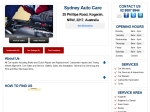 View More Information on Sydney Auto Care