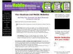 View More Information on Better Mobile Websites