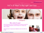 View More Information on Kid's Day Spa Parties
