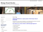 View More Information on Mulga Road Books, Oatley