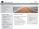 View More Information on Paramount Lawyers