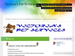View More Information on Victoria's Pet Services