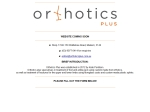 View More Information on Orthotics Plus