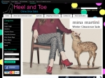 View More Information on The Australia-Based Heel And Toe