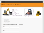 View More Information on Chick Earthmoving