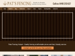 View More Information on Pats Fencing