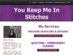 View More Information on You Keep Me In Stitches