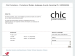 View More Information on Chic Promotions