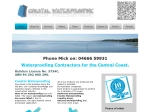 View More Information on Coastal Waterproofing